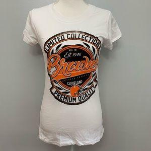 NFL | Cleveland Browns White Short Sleeve T-Shirt